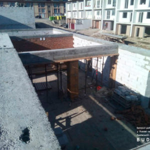 заливка бетонних балок