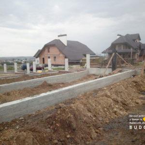 Бетонная подпорная стинa Львов и Львовская область